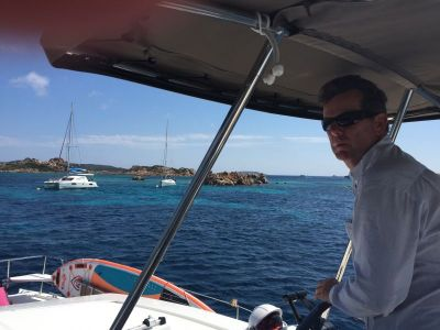 Some tricky navigation between islands - La Maddalena