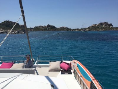 Anchored at La Maddelena, Sardinia