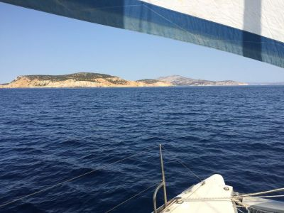Sailing, somewhere in the Cyclades!